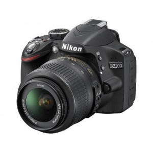 Nikon D3200 18-55mm Lens Black