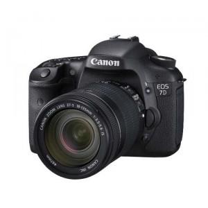 Canon 7D w/18-135 MM Lens