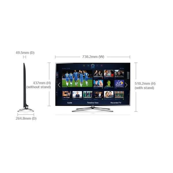 Samsung 32 Inch Smart Tv : Home > Samsung 32-Inch F6400 Series 6 Smart 3D Full HD LED TV
