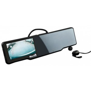 Merlin GPS Car Mirror